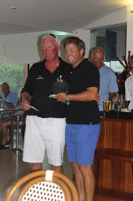 MICHAEL ABBOTT GENTS CLUB CHAMPION 2014